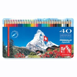 Caja Lápices Metálica Prismalo - 40