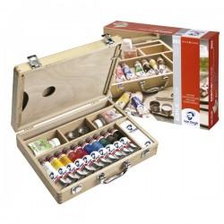 Caja Acrílico Van Gogh Madera 10 unidades