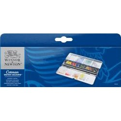 Caja Blue Box Acuarela Cotman