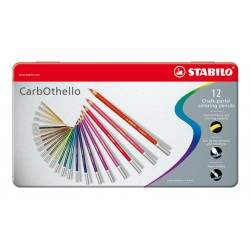 Caja Lápices Carbothello Stabilo 12 unidades