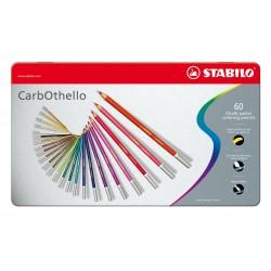 Caja Lápices Carbothello Stabilo 60 unidades