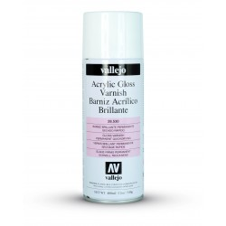Barniz Spray Vallejo Brillante