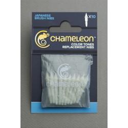 10 puntas pincel de recambio Chameleon