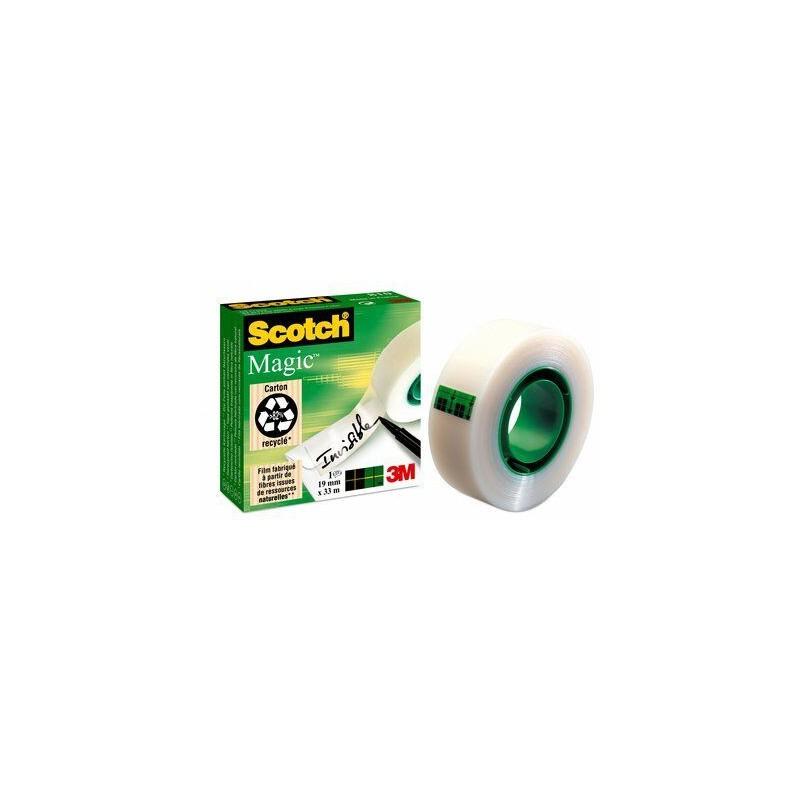 Cinta adhesiva 3M - 6 rollos de 19 x 33 mm