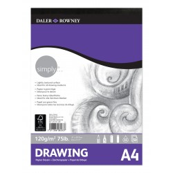 Bloc dibuix Daler & Rowney 120 gr A4