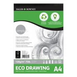 Bloc ecológico Daler & Rowney 120 gr A4