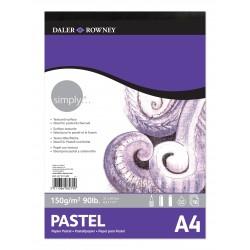 Bloc pastel Daler & Rowney 150 gr A4