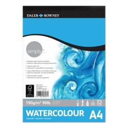 Bloc Aquarel·la Daler & Rowney 190 gr A4
