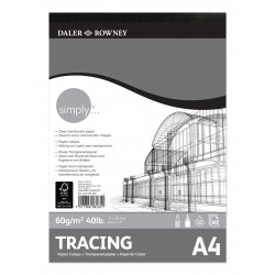 Bloc Tracing Daler & Rowney 60 gr A4