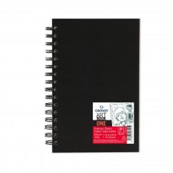 Cuaderno Sketch One Espiral 14 x 21,6 cm