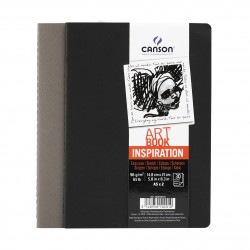 Cuaderno Inspiration Canson Negro/Gris A5