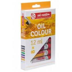 Caja al Óleo Art Creation - 8 Colores x 12 mL