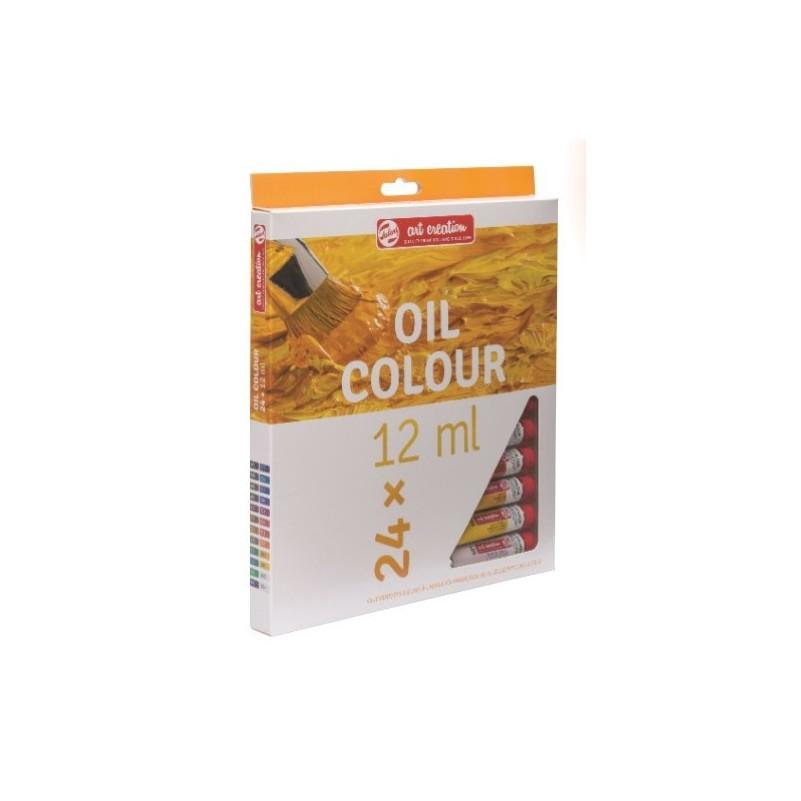 Caixa a l'Oli Art Creation - 24 Colors x 12 mL