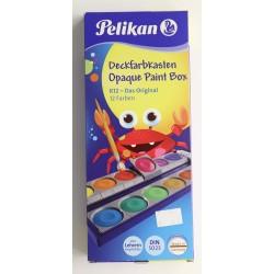 Caixa Aquarel·les Pelikan - 12 Colors