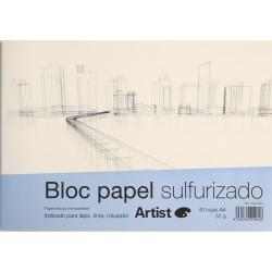 Bloc Papel Sulfurizado - A4