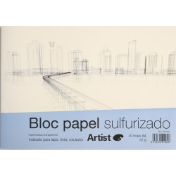 Bloc Paper Sulfuritzat - A4