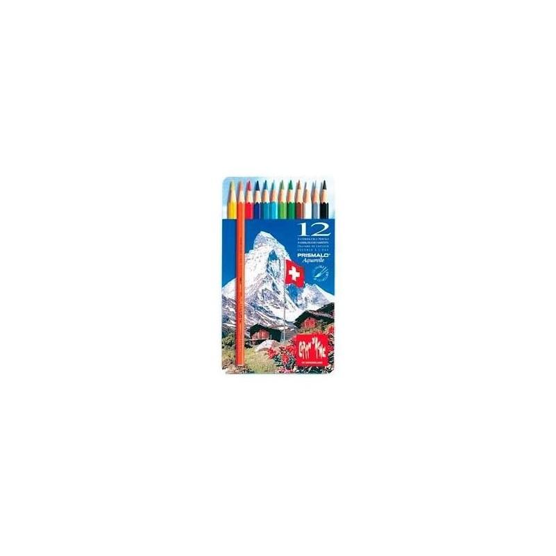 Caja Lápices Metálica Prismalo - 12