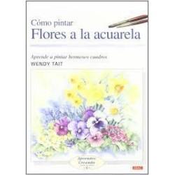 Cómo Pintar Flores A La Acuarela