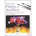 Cómo Pintar Flores Al Acrílico