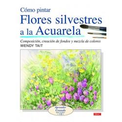 Cómo Pintar Flores Silvestres A La Acuarela