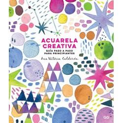 Llibre aquarel·la creativa