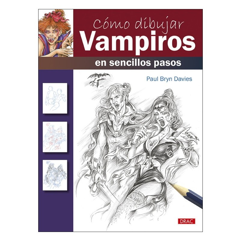 Cómo Dibujar Vampiros