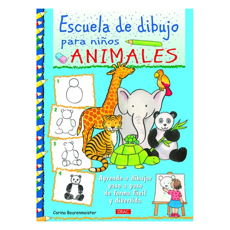 Escuela De Dibujo Para Niños - Animales