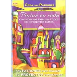 Pintar Seda Nº2 Con Motivos Emblemáticos