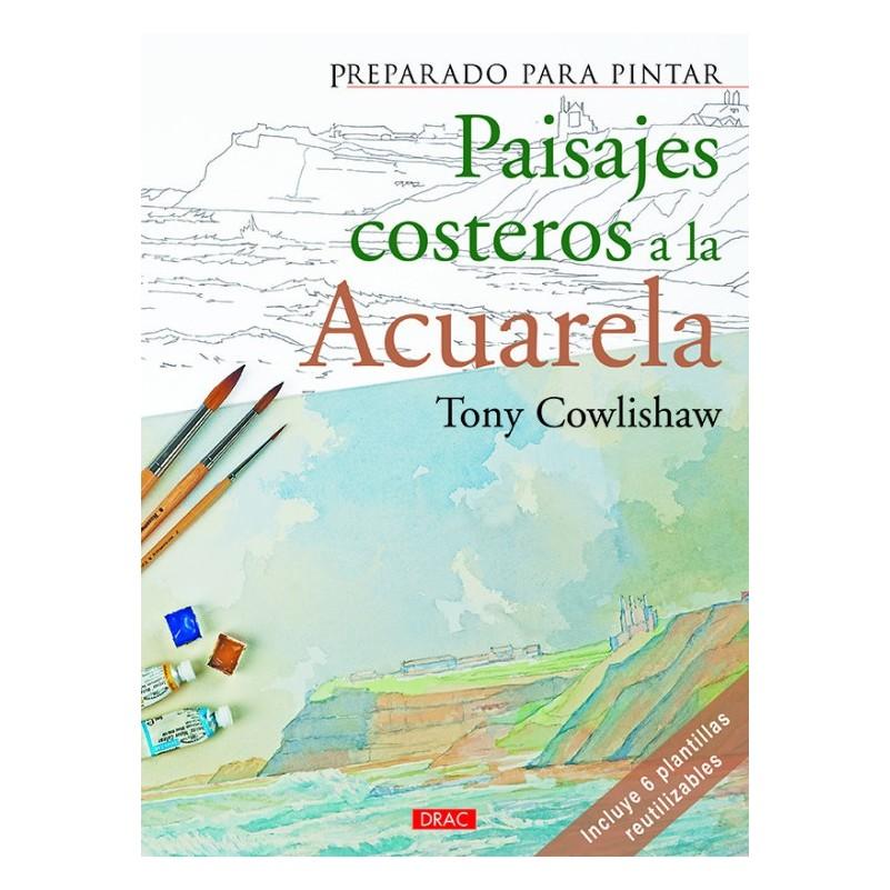 Preparado Para Pintar - Paisajes Costeros Acuarela