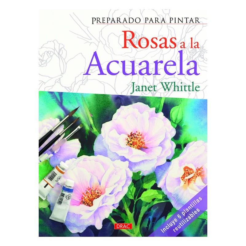 Preparado Para Pintar - Rosas A La Acuarela