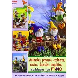 Sèrie Fimo - Animals, Pallassos, Cuiners