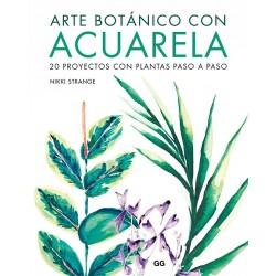 Arte Botánico Con Acuarela