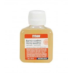 Barniz Titan Satinado - 100 mL
