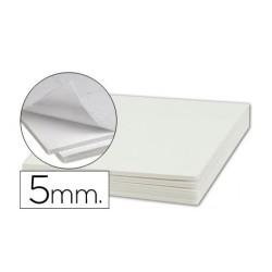 Cartón Ploma Adhesivo Blanco