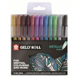 Set Retoladors Gelly Roll Sakura Metallic Casa Piera Barcelona