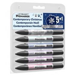 Set Promarker Metallic 6...