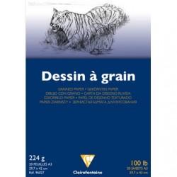 Papel Dessin À Grain 224G