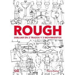 Rough, Dibujar En 2 Trazos Y 3 Movimientos