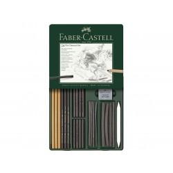 Set Pitt Charcoal Faber