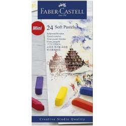 Caixa 1/2 Pastel Faber-Castell - 24