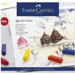 Caixa 1/2 Pastel Faber-Castell - 48