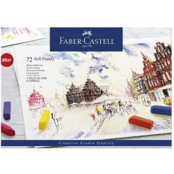 Caixa 1/2 Pastel Faber-Castell - 72