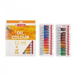 Set Art Creation 24 Tubos 12 ml de Pintura al Óleo principiante - Casa Piera