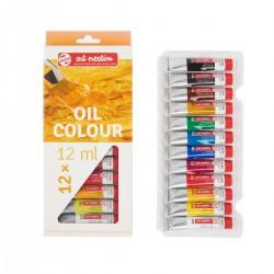 Set Art Creation 12 Tubos 12 ml de Pintura al Óleo principiante - Casa Piera