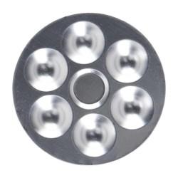 Paleta Talens Circular Aluminio
