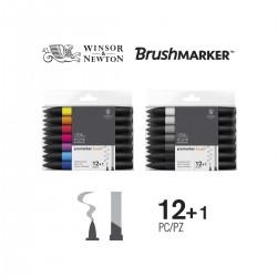 Set 12+1 Brush Promarker Winsor&Newton - Casa Piera