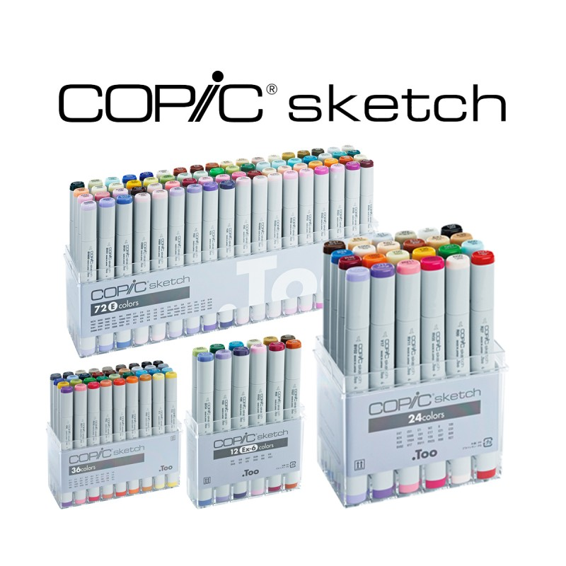 Set Copic Sketch - CasaPiera