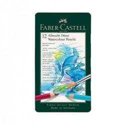 Sets Lápices Acuarelables Albrecht-Dürer Faber-Castell 12 metálica - Casa Piera
