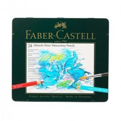 Set Llapis Aquarel·lable Albrecht-Dürer Faber-Castell 24 metàl·lica - Casa Piera