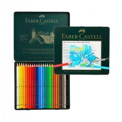 Sets Lápices Acuarelables Albrecht-Dürer Faber-Castell 24 metálica - Casa Piera